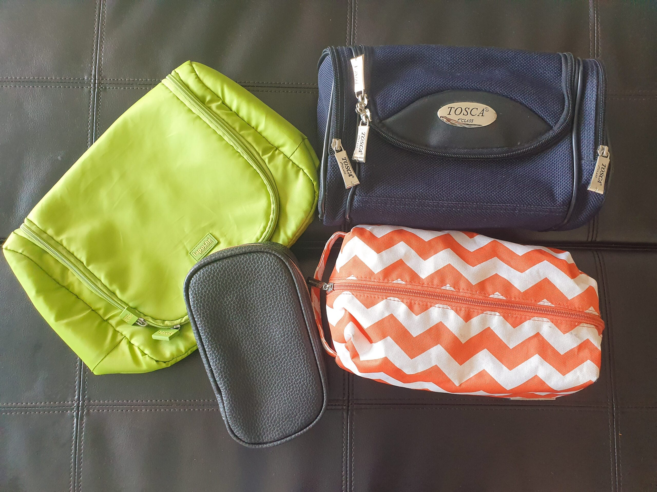 My toiletry bag collection