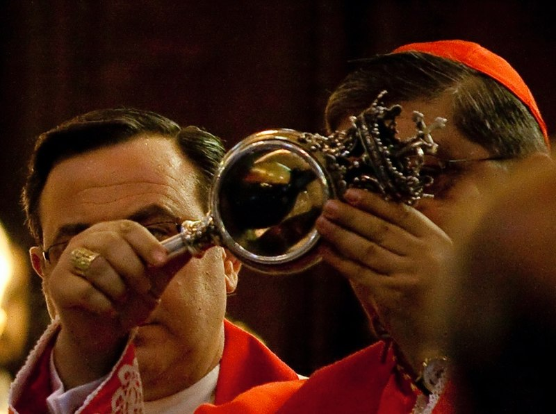The Blood Miracle of St Januarius