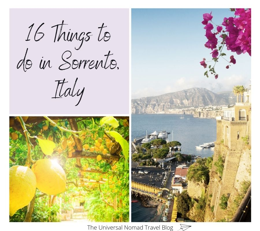 16 things to do in Sorrento Italy