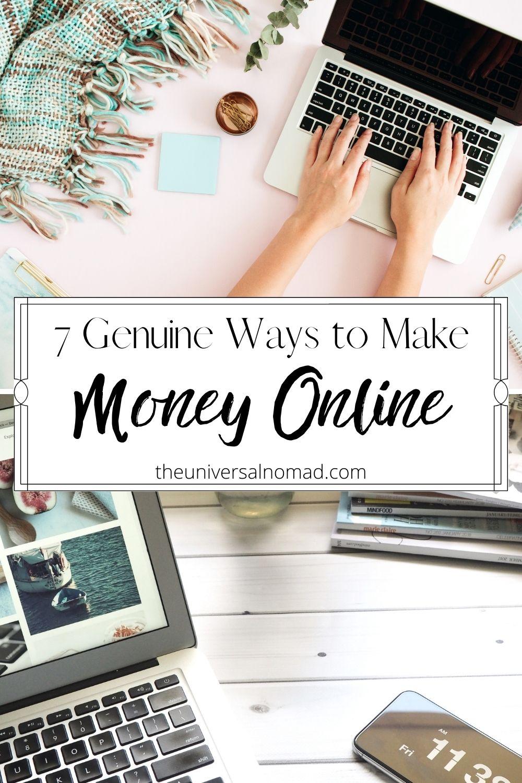 7 Genuine Ways to make money online