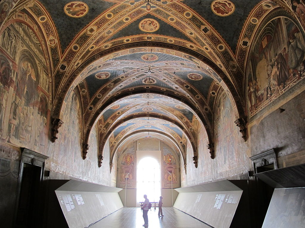 Inside the Santa Maria della Scala Siena Italy