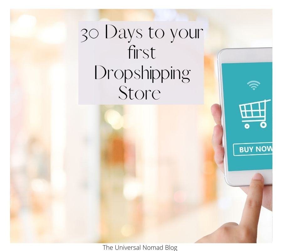 30 days to your first dropshipping store