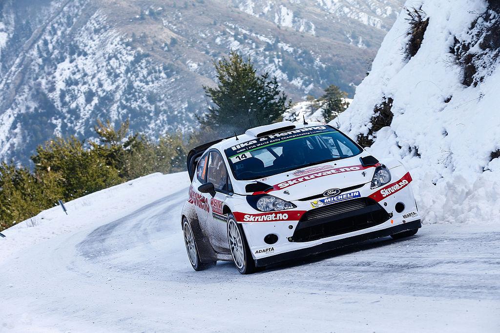 Monte Carlo Rally through the Alps