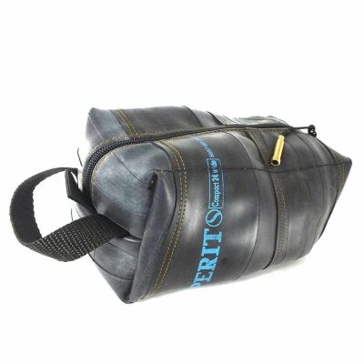 Tikea Cosmetic Bag - Makeup Pouch Geometric Cork